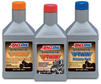 Amsoil V-Twin Oils and Fluids