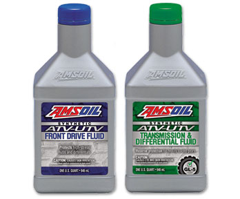 Amsoil ATV transmission and front drive fluid