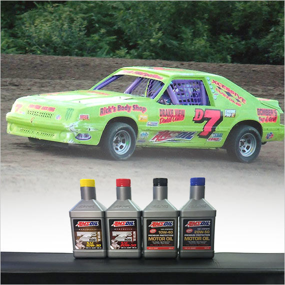 Late Model Car Oil